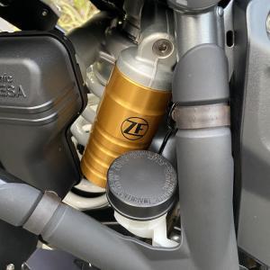 R1200GS ADVENTURE 24ヶ月点検(リヤショック交換・TFTメーター日本語化)