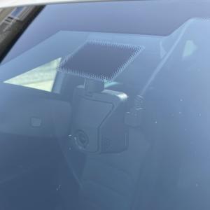 maniacs ドライブレコーダー用 ドット・グラデーション・ベースシール(M)中心部ベタ黒 取り付けレビュー Tiguan TSI R-Line