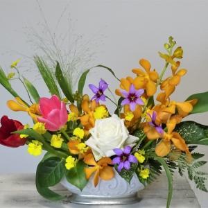多忙な時期のお花のリメイク