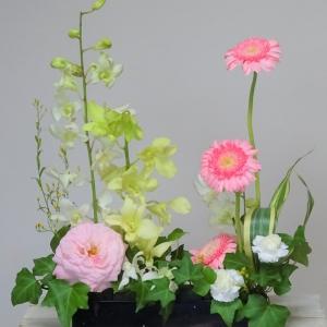 残ったお花たちの3変化