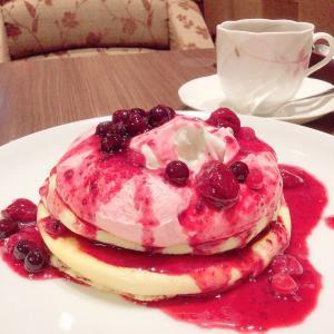 しあわせの味♡フランソワーズクリームリコッタパンケーキ