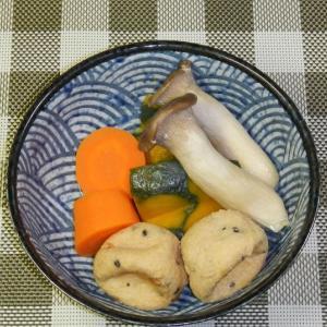 飛龍頭と野菜の含め煮