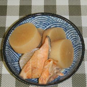 鮭のあらと大根の煮物