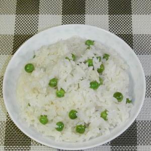 グリーンピースの豆ご飯