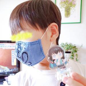 子供用夏用マスク作ってみた♪