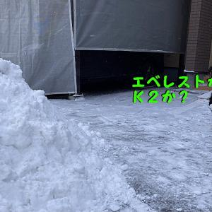2020~21じゃじゃまる冬休みの絵日記 ⑤雪団子