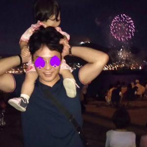 2019くりりん&じゃじゃまる夏休みの絵日記③お父さんの誕生日