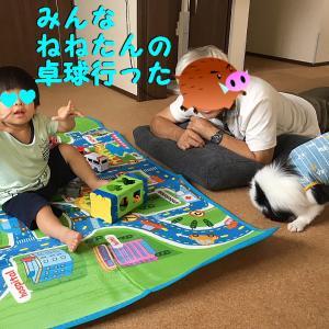 2019くりりん&じゃじゃまる夏休みの絵日記⑤紅葉?