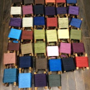 今年ラストの織りのワークショップが始まります!