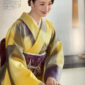 檀れいさんが上田紬を素敵に着こなしてくださいました!