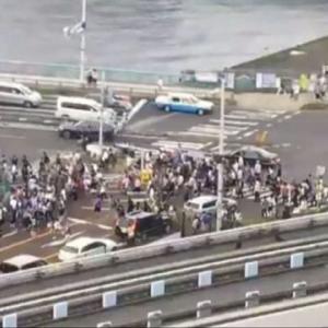 【ポケモンGO】ついに警視庁が動き出す。お台場ラプラスを求めて数百人が道路封鎖【青島刑事】【事件は現場でおこってるんだ】