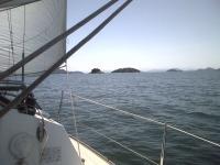 瀬戸内海の小島