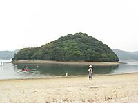 源平の合戦・・at 矢の島