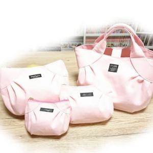 ボニートートバッグ と リトルボニーポーチ3サイズ ~薄いピンク~ (*^▽^*)♪