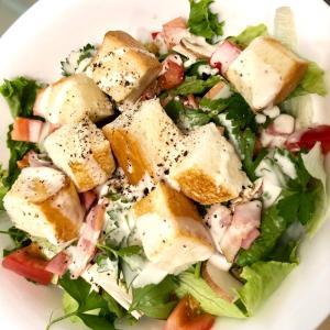 アフタヌーンティーで大好きだったサラダを再現♥♬✨.。o○《当選品》