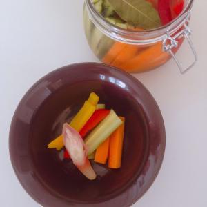 糖質控えめ!夏野菜のピクルスできました