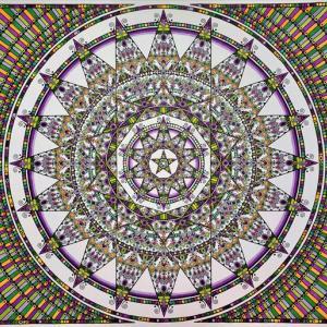 至福の曼荼羅画「シャンティスター2」