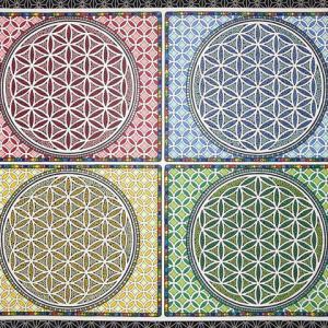 神聖幾何学アート 【クアドラプルヒーリング】