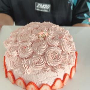 息子の誕生日ケーキ