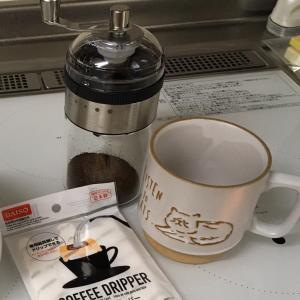 ダイソーの手挽きコーヒーミル