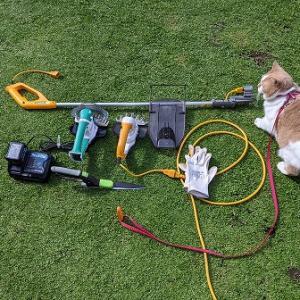 頻繁に行うクラピアの際刈りだからこそ充電式