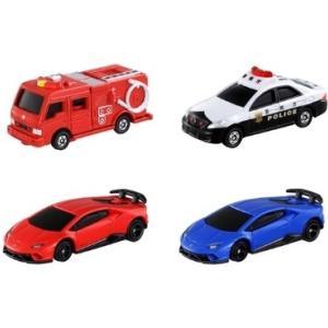 【予約受付中】光るよ!鳴るよ! ライト&サウンドトミカ トヨタ クラウン パトロールカー/消防車/ランボルギーニ(1/18発売)