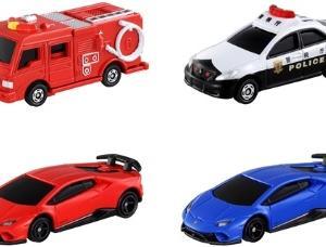 【販売中】光るよ!鳴るよ! ライト&サウンドトミカ トヨタ クラウン パトロールカー/消防車/ランボルギーニ(1/18発売)