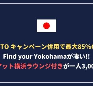 【最大85%割引】Find Your Yokohamaクーポンが安すぎる!数量限定なので急げ!