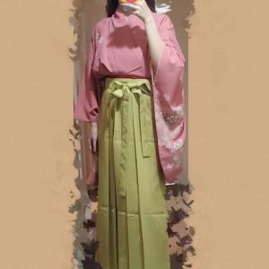 高見沢さんの天草四郎に影響されて着物と袴を買いました