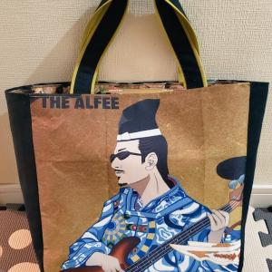 THEALFEE春の夢の風呂敷を桜井賢さんリメイクバッグに!