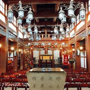 韓屋スタイルの聖堂「大韓聖公会 江華聖堂」@江華島