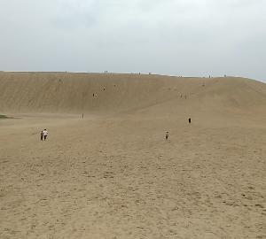 《城巡り》砂の山に挑んでみよう(鳥取砂丘、山陰遠征②)