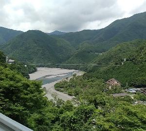 《城巡り》谷瀬の吊り橋、昔から行ってみたかった(熊野遠征①)