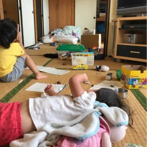 子供が考える整理収納。2歳でもちゃんと収納出来ました。