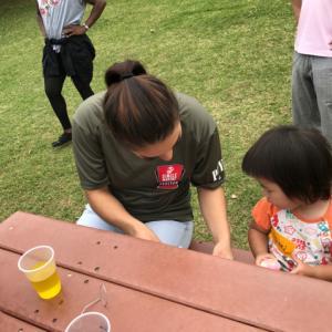 沖縄で国際交流。エッグハントにハマる。