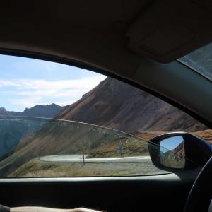 イゾアール峠で羊にやられる