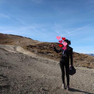 イゾアール峠でちょっとした挑戦