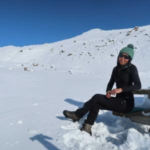 冬の世界を垣間見てきました