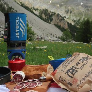 南仏のお山で養々麺