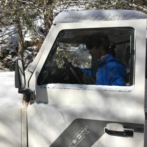速報・5月下旬の新雪