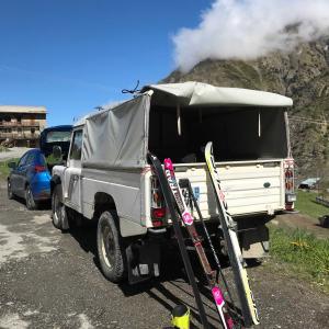 次男と1泊スキーに出発(5月)