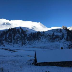 次男と新雪の山を下りる(5月後半)