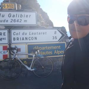 速報・ガリビエ峠に自転車で登りました