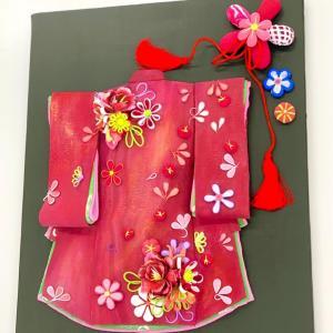 クレイでつくるお着物飾り♪ ( 下関教室:生徒さんのレッスン作品 )クレイクラフト