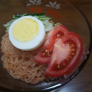 韓国「ヘルシー、糸こんにゃくビビン麺」