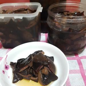 韓国「アミハナイグチ(황소비단그물버섯)の漬け物(장아찌)のレシピ 」