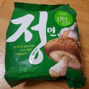 韓国「植物性ラーメン、チョンラーメン」