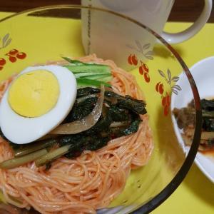 韓国「열무김치 비빔면 (間引き大根キムチのビビン麺)レシピ」