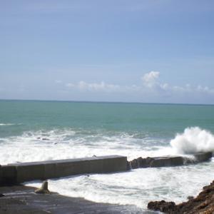 週末になると台風がやってきます。