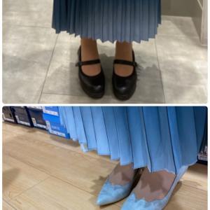 靴から組み立て!ファッション同行♪